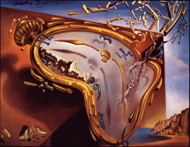 "Dali ""Soft Watch at the Moment of First Explosion, c.1954"""