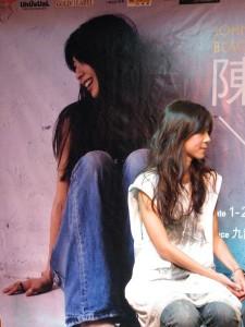 「陳綺貞2008香港演唱會」祝捷會後接受電子傳媒訪問